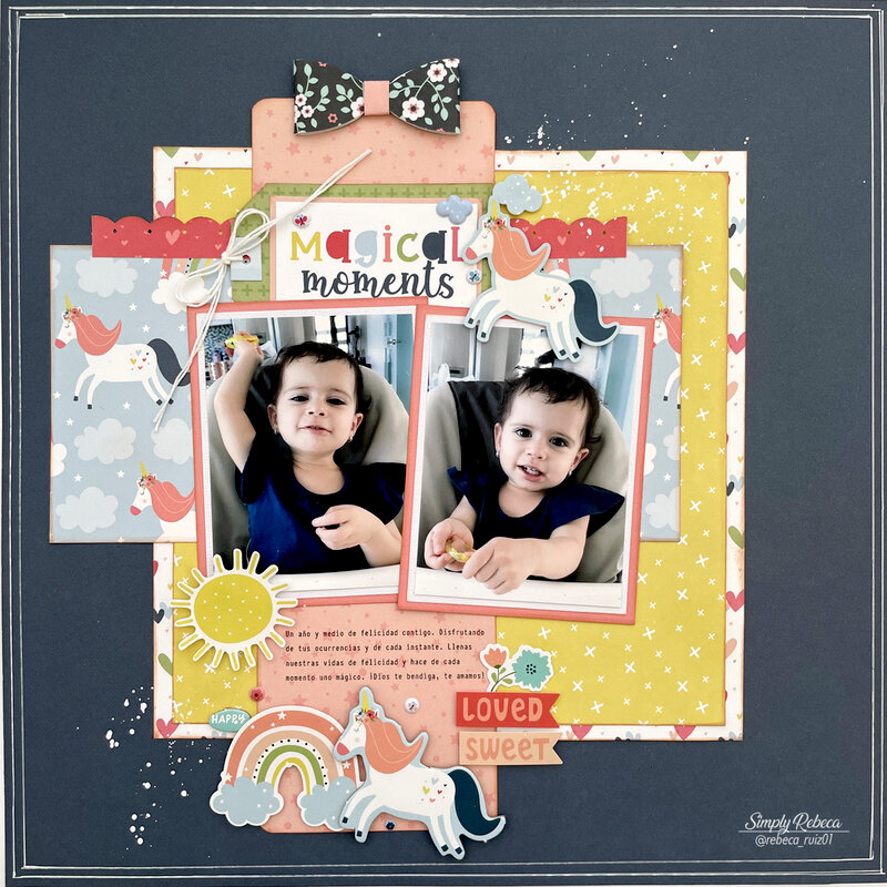 Magical Moments Layout