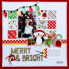 Merry & Bright Layout