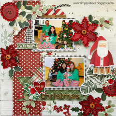 Merry Christmas Layout