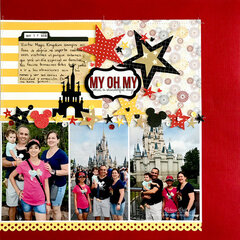 My Oh My What a Wonderful Day Layout