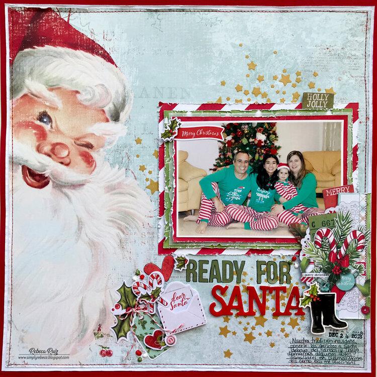 Ready For Santa Layout