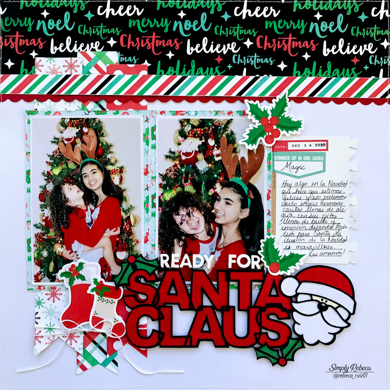 Ready For Santa Claus Layout