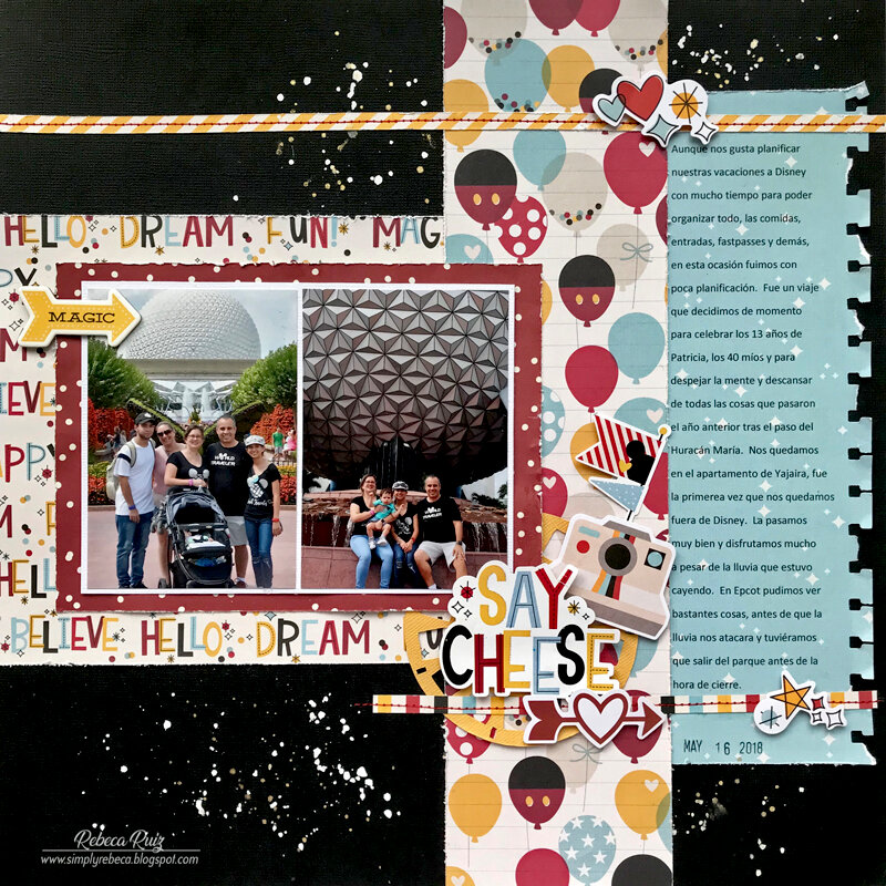 Say Cheese Layout