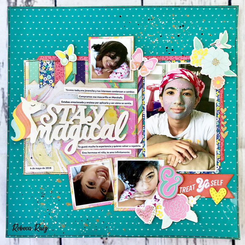 Stay Magical Layout