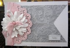 Pinky Blossom Card