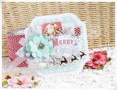 Sweet Christmas - Prima Card