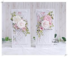 Wedding Cards with Macrame