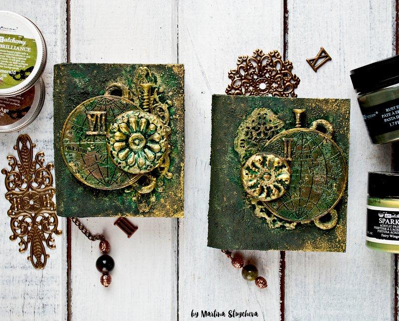 Altered mini books