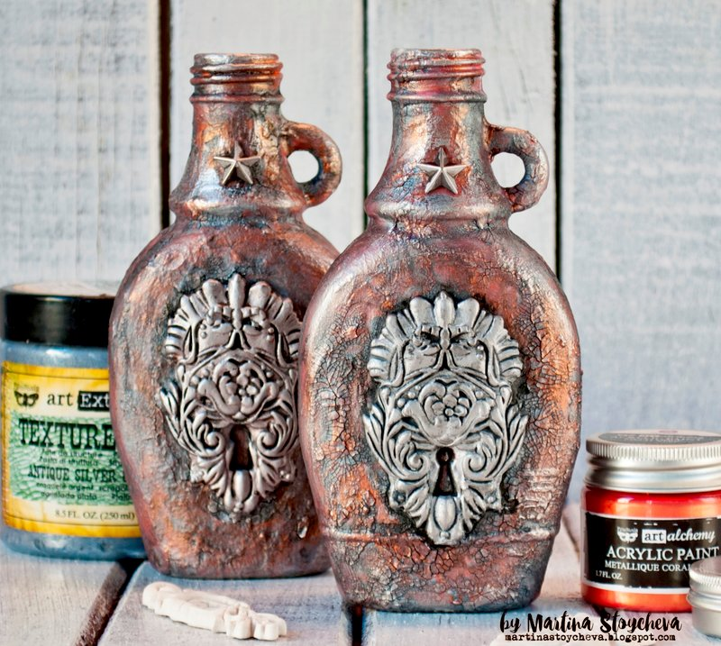 Altered mini bottles