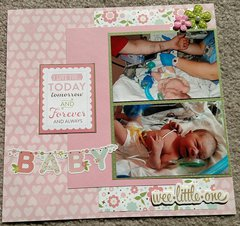 Abby's Birth Opposite Page