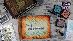 Art Journal Tutorial - I Am Treasured