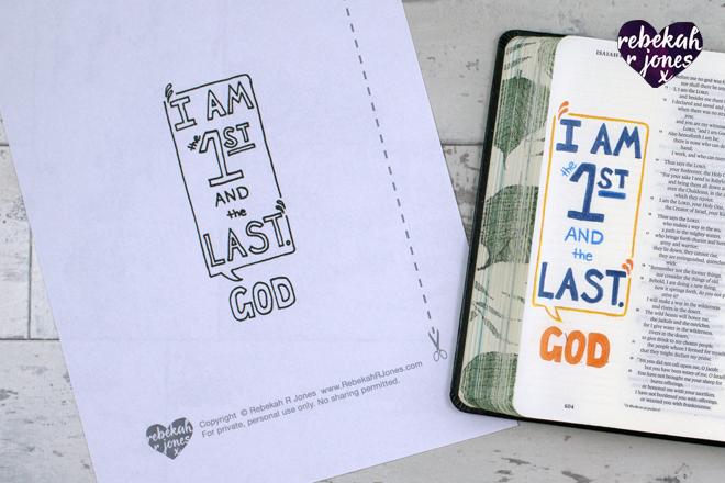 Lesson 1, The Beginning Bible Art Journaling Challenge