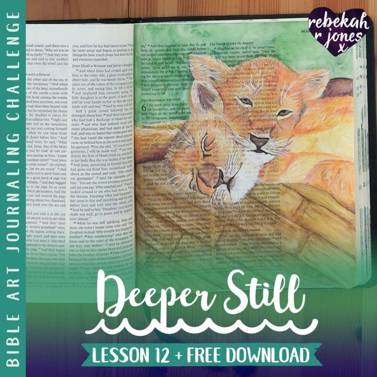 Lesson 12 Deeper Still