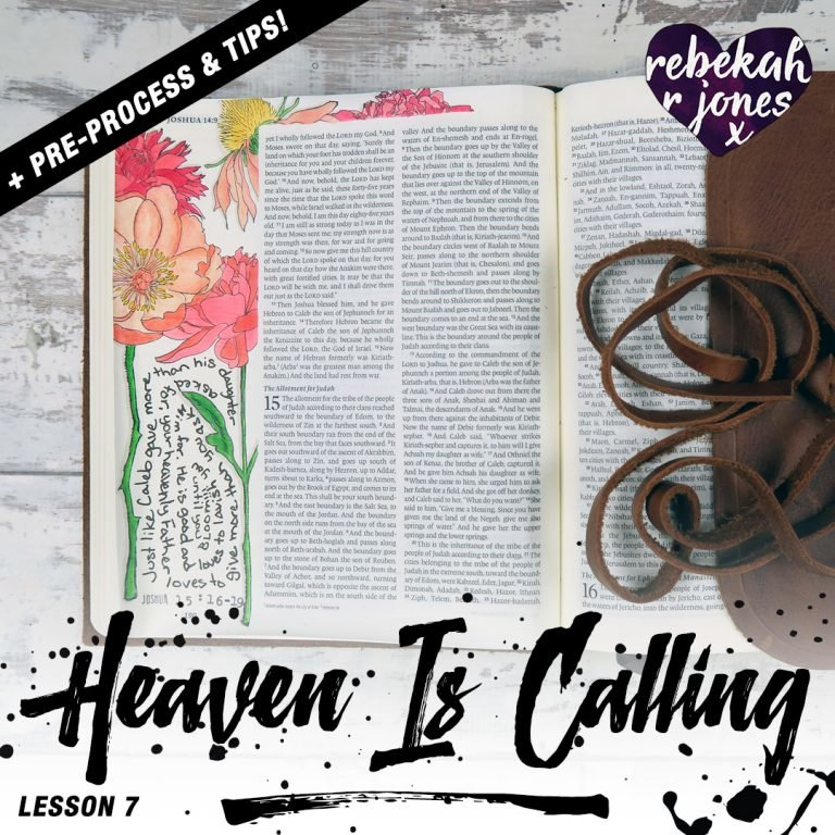 Lesson 7 Heaven Is Calling