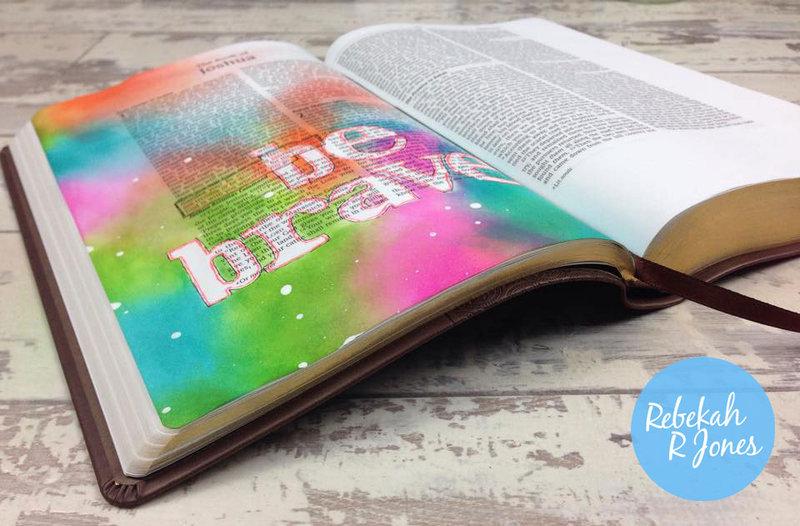 Week 1 Original Bible Art Journaling Challenge