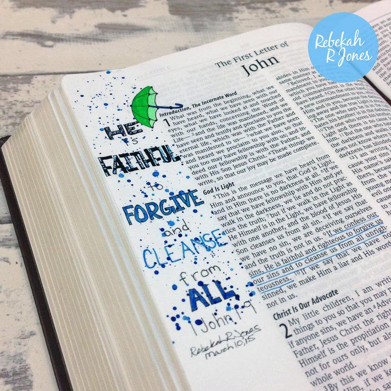 Week 10 Original Bible Art Journaling Challenge