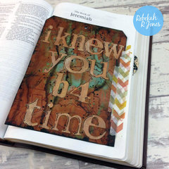 Week 15 Original Bible Art Journaling Challenge