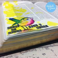 Week 16 Original Bible Art Journaling Challenge