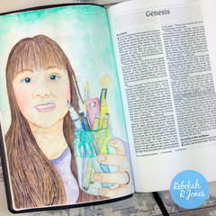 Week 17 Original Bible Art Journaling Challenge