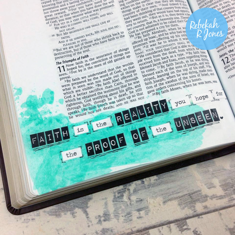 Week 18 Original Bible Art Journaling Challenge