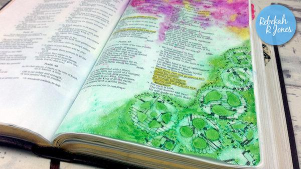 Week 24 Original Bible Art Journaling Challenge