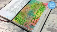 Week 27 Original Bible Art Journaling Challenge