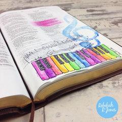 Week 4 Original Bible Art Journaling Challenge