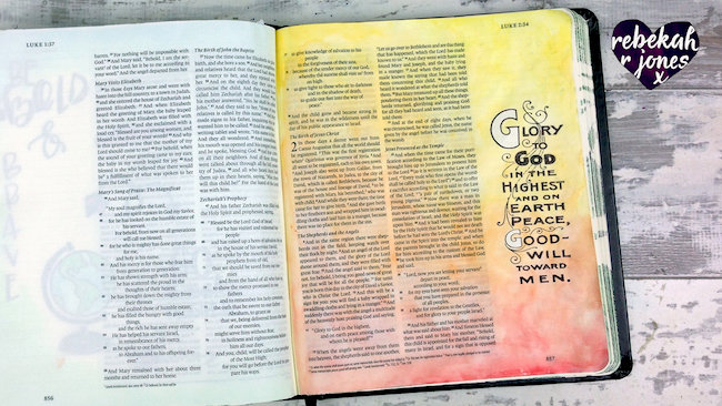 Week 49 Original Bible Art Journaling Challenge