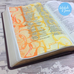 Week 8 Bible Art Journaling Challenge