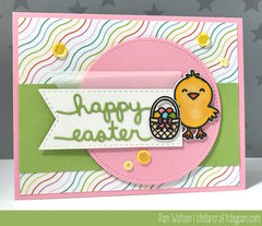 Chick Easter Card featuring A Good Egg from Sunny Studio