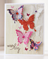 Delicate Butterfly Birthday Card