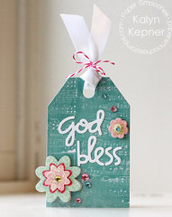 God Bless Gift Tag