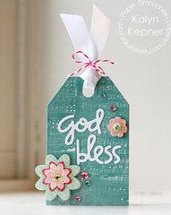 God Bless Gift Tag
