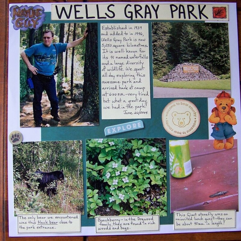 Wells Gray Park (Vacation 2004)