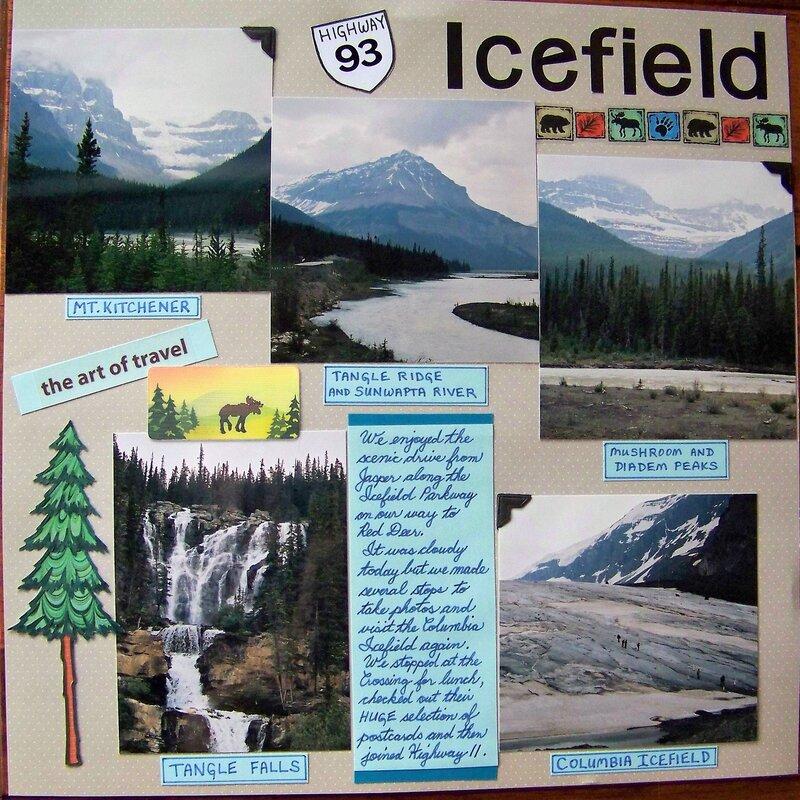 Icefield Parkway (pg. 1)