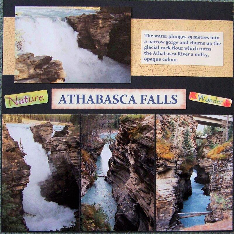 Athabasca Waterfalls