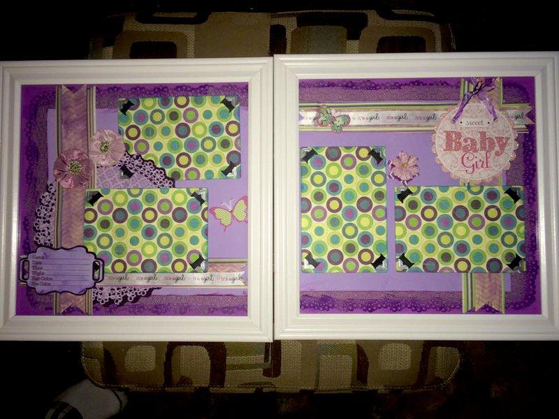 Layout It S A Girl Nursery Art
