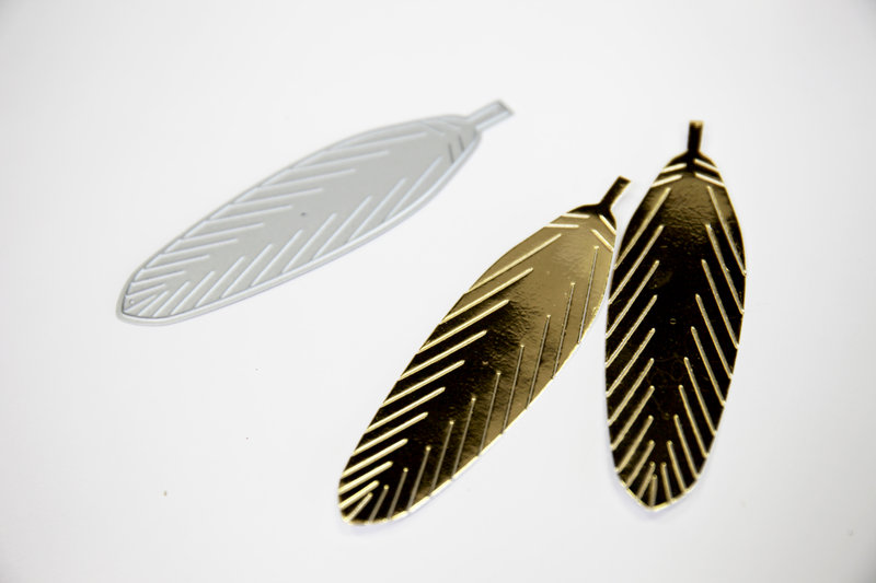 Feather Dies from Umbrella Crafts