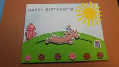 Birthday Slider card