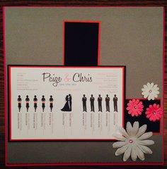 Wedding Program Challenge
