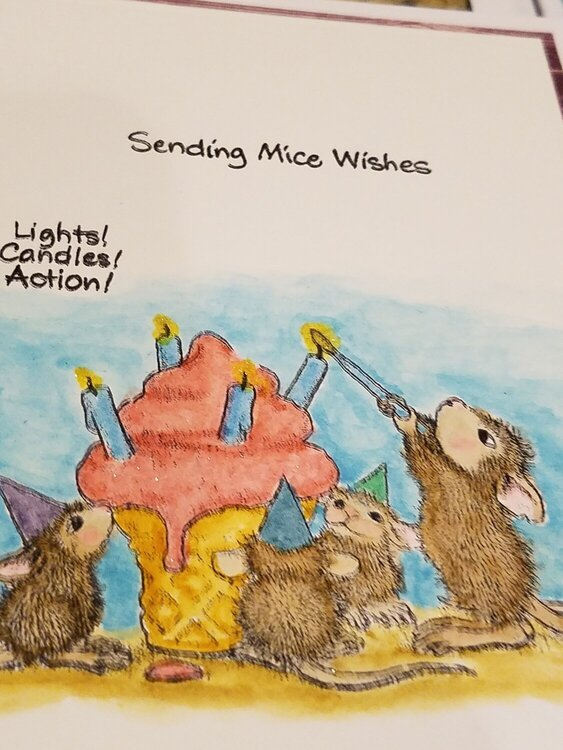 Mouse House Birthday