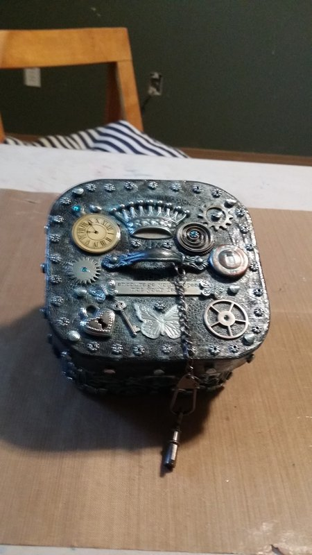 Steam Punk key box