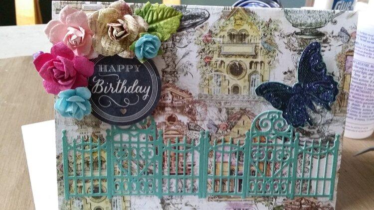 Birdhouses and Birthday