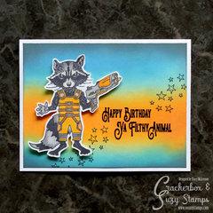 Rocket- Happy Birthday