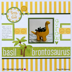 Basil Brontosaurus