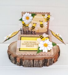 Bee pop-up box card