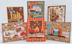 Celebrate Autumn card set