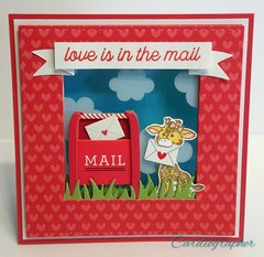 Love is in the mail