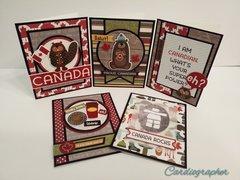 O Canada card set