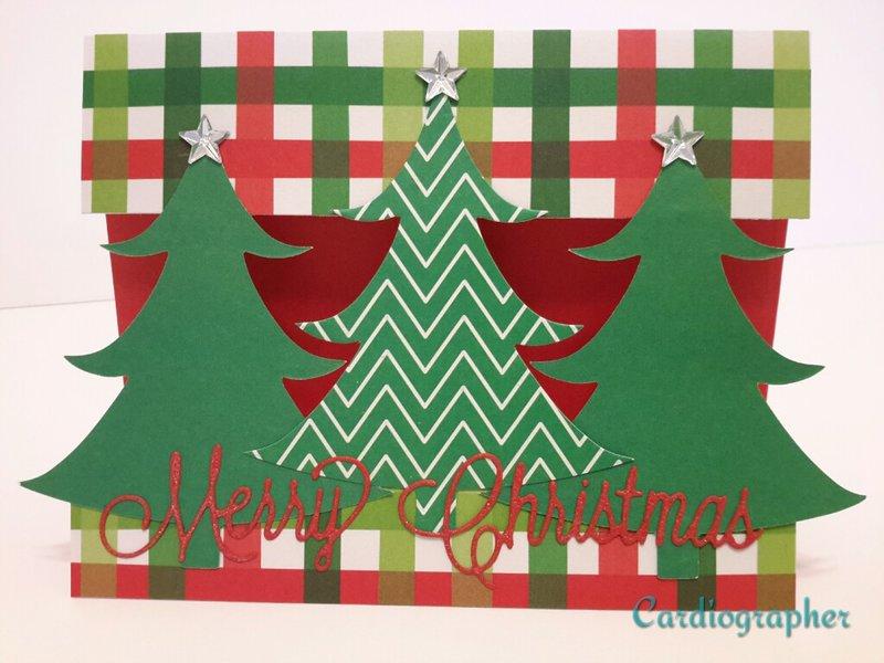 Christmas tree trio